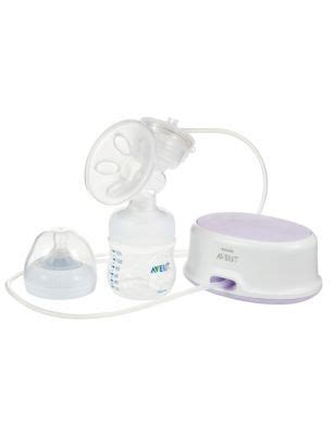 comfort single electric breast pump | m&s
