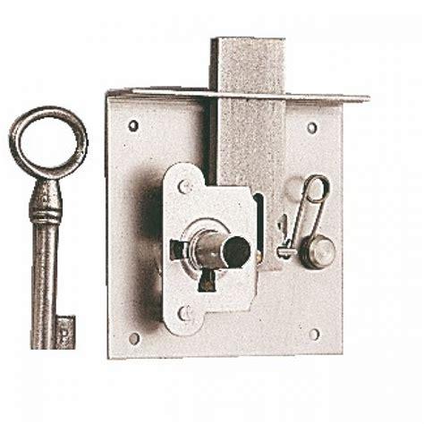 serrure 224 entailler pour meuble ou tiroir rustique 70mm