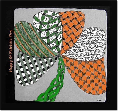 S Day Zentangle St S Day 3 5 Quot X 3 5 Quot Zentangle Zentangles