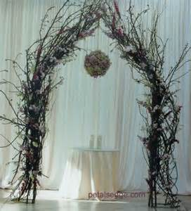 wedding arches made twigs twig arch quot 0 wedding metal frames and metals