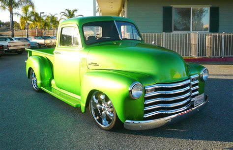 customized chevy trucks 1953 chevrolet custom show truck