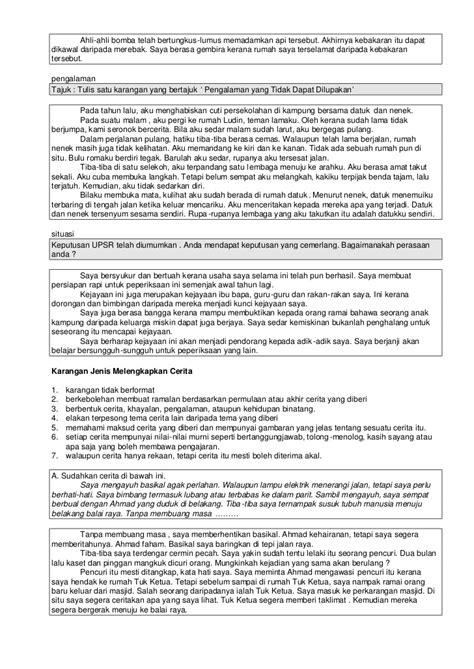contoh membuat karangan essay contoh karangan
