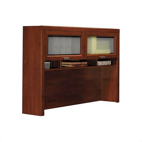 bush hansen cherry desk bush furniture tuxedo hutch for l shaped desk in hansen