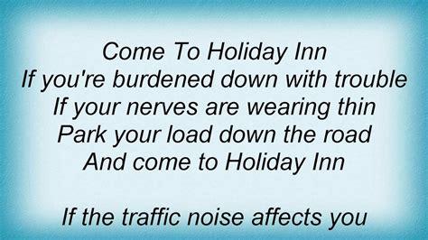bing crosby happy holiday lyrics youtube