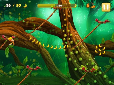 swinging monkey game tribeflame games