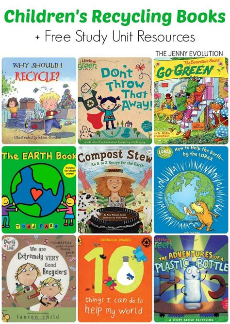 reference books for kindergarten children s books on recycling study unit resources