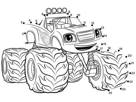 blaze monster trucks coloring pages monster truck coloring page top 31 blaze and the monster
