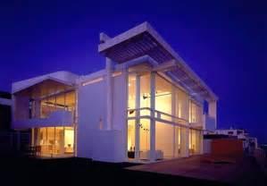 Modern House California by Beautiful White Beach Home In California Freshome Com