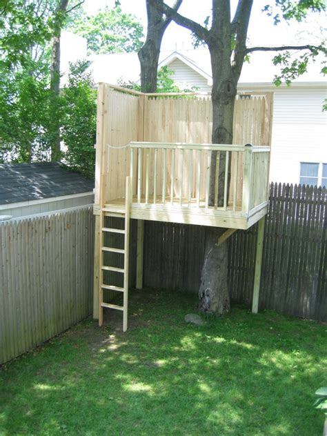 backyard treehouse plans building a simple tree house just another wordpress com site