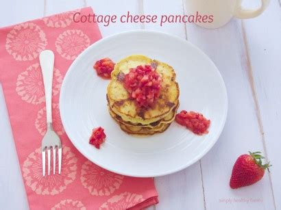 Cottage Cheese Pancakes Without Flour by Wheat Free Cottage Cheese Pancakes Tasty Kitchen A