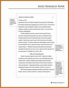 Apa Format Sle Essay Paper research paper apa 6th edition format