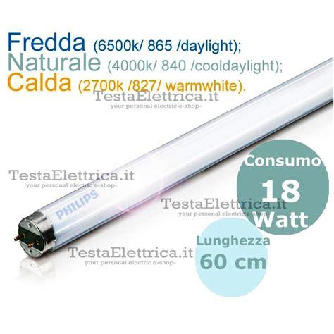 Lu Neon Philips 18 Watt neon lineare philips master tl d 18w 865 840 827 60cm