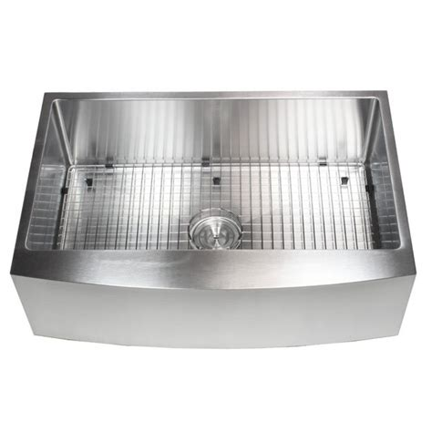 33 inch apron sink 33 inch stainless steel curved front farm apron single