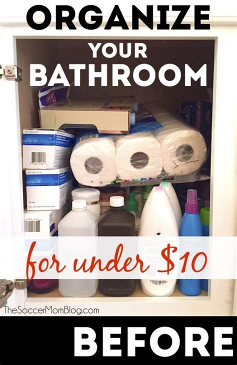 organization hacks 350 simple solutions to organize your home in no time books 36 best organized bathrooms images on