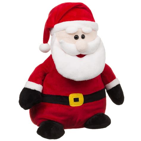 b m santa claus plush toy christmas stuffed cuddly toys