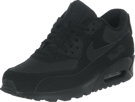 Air Max 90 Schwarz 3658 by 4 Size 7 Youth Retro The American