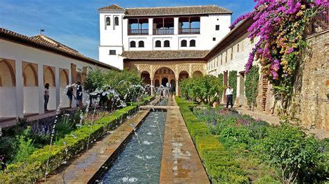imagenes jardines generalife foto gratis alhambra granada generalife imagen gratis