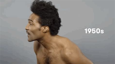 black men 1950s hairstyles this video shows the amazing evolution of black men s hair