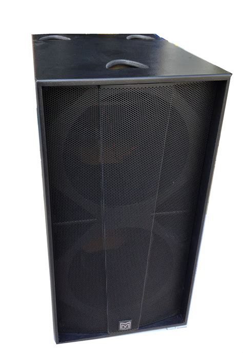 Speaker P Audio 18 Inch dual 18 inch plywood wholesale speaker empty cabinet subwoofer dual 18 inch subwoofer speaker