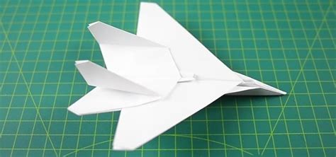 How To Make A Paper Fighter Jet - how to fold f15 jet fighter paper plane 171 origami