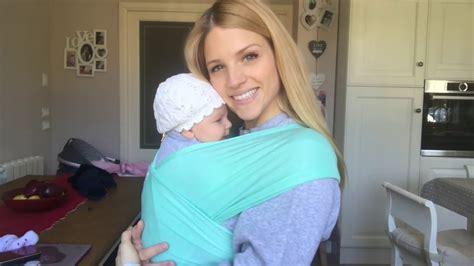 come indossare la fascia porta bebe babywearing baby