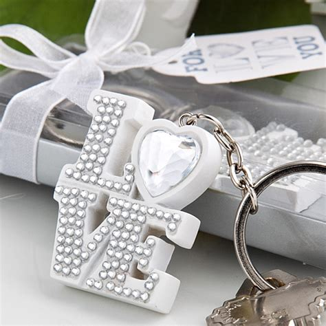 Wedding Favors Keychains by Bling Tastic Keychains Wedding Favors