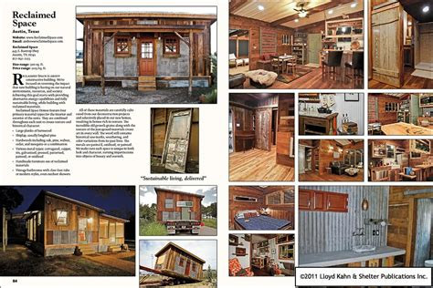 Small Homes Book Tiny Homes Simple Shelter Table Of Contents