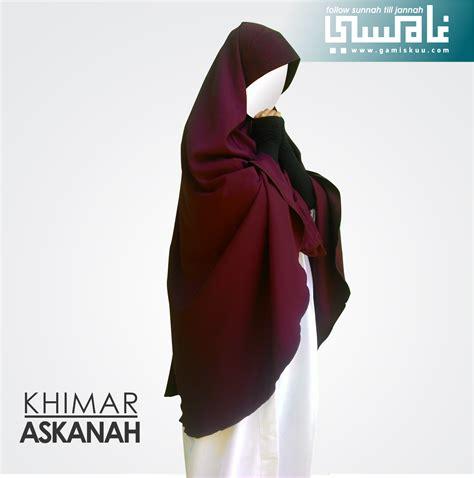 Jual Khimar Jual Khimar Premium Askanah Gratis Cadar Bandana Ya Ukh