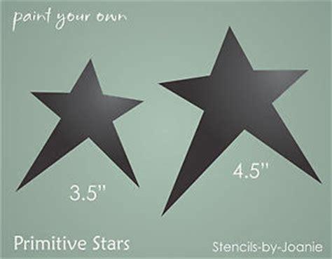 printable primitive star stencil stencil primitive star shape design craft projects