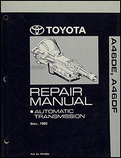 manual repair autos 1995 toyota previa navigation system 1994 1995 toyota previa automatic transmission repair shop manual original