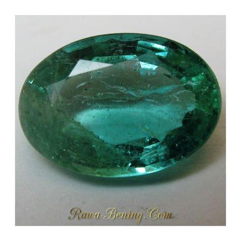 Hesonite Garnet Ls129 Memo Igl 1 jual batu zamrud alami oval cut hijau clarity vs 1 20 carat asli