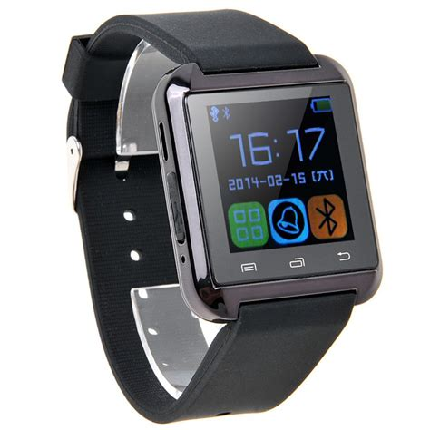 Promo Unique Smartwatch U8 Putih White Smart Jam Branded smartwatch u8 jam tangan dengan fungsi telepon sms