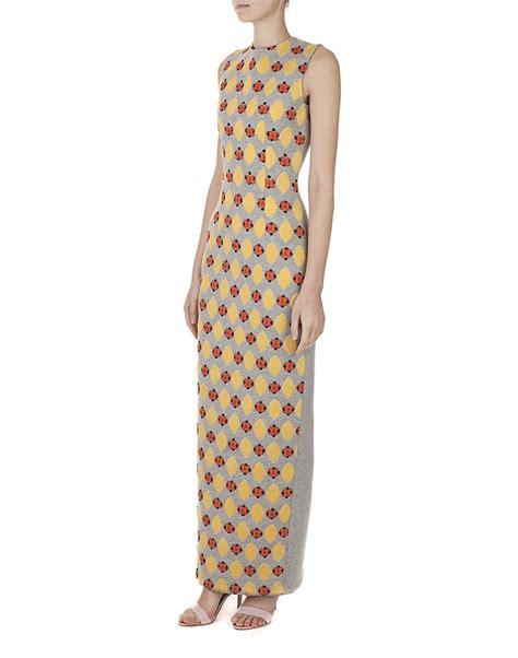 V Dadu Navy the retro maxi dress e merging asian designers s