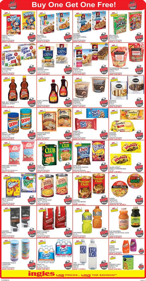 ingles printable grocery coupons ingles weekly ad february 24 march 1 2016 grocery