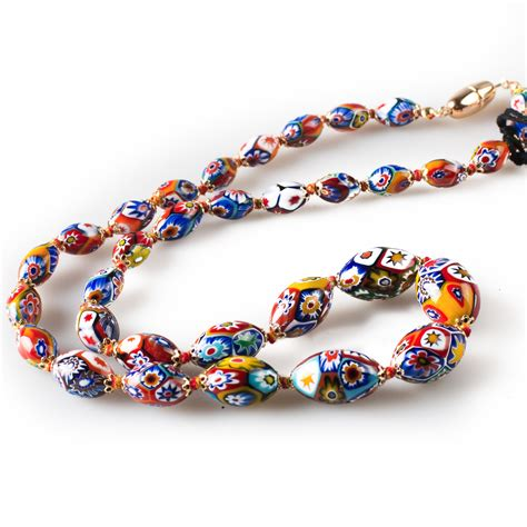 la murrina ladari prezzi classic collana di perle in murrina