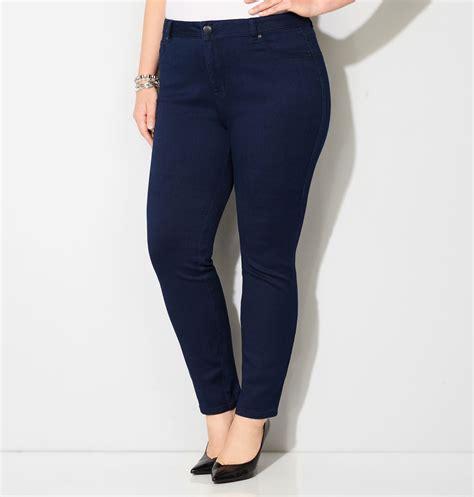 Place Legging Denim butter denim legging jean navy plus size legging