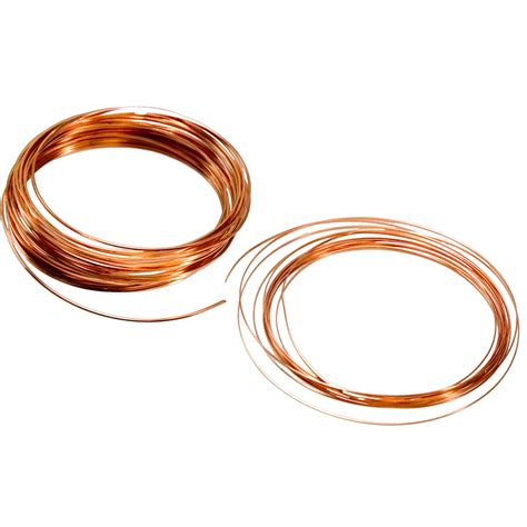 jewelry from copper wire beadalon copper jewelry wire 21ga practice pack