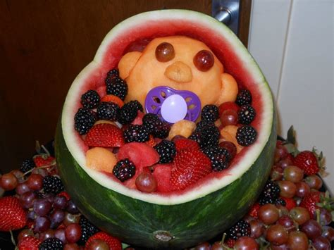 Baby Shower Watermelon by How To Make A Watermelon Baby For Your Friend S Baby Shower Pays2save