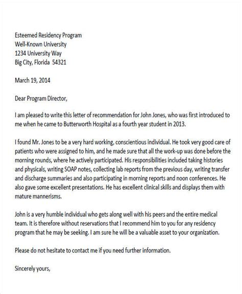 Recommendation Letter Doctor format of physician letter images cv letter and