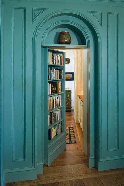 secret bookcase doors  fun   mysterious