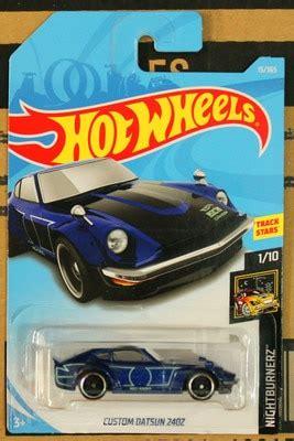 new arrivals 2018 8a hot wheels 1:64 blue custom datsun