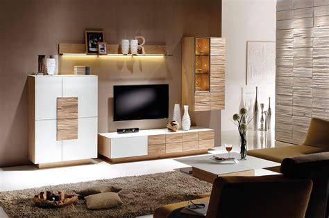 wohnzimmermöbel kaufen v montana voglauer wohnwand 235 wei 223 wildeiche