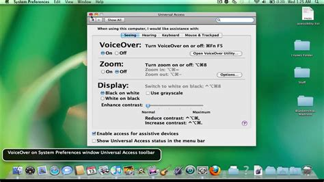 youtube tutorial on macbook air macbook setting up voiceover youtube