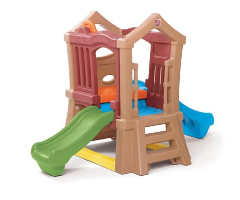 step 2 play structure with slide step 2 play up slide climber toys