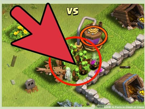 How To Search On Clash Of Clans How To Farm In Clash Of Clans With Pictures Wikihow