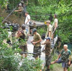 celebrity jungle members christopher biggins s i m a celebrity jungle survival
