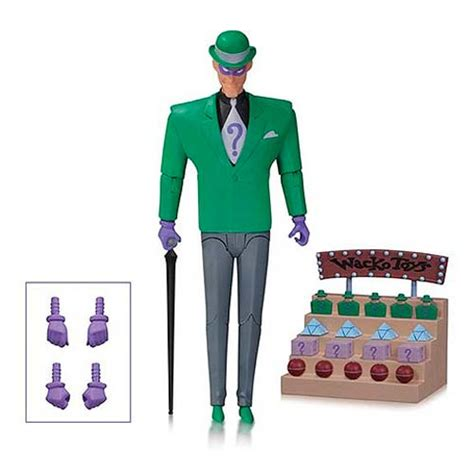animated figures for sale batman animated series figure riddler