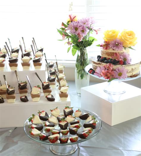 wedding shower dessert ideas bridal shower dessert spread