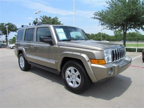 2006 Jeep Commander Specs 2006 Jeep Commander Limited Data Info And Specs