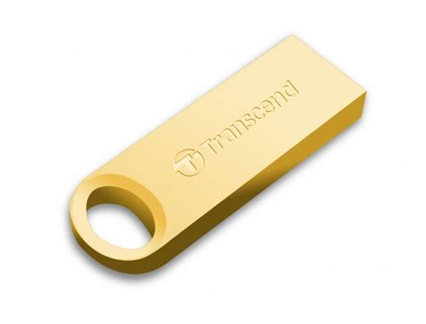 Transcend Jetflash 520g 8gb 8gb transcend jetflash 520g gold plated usb flash drive